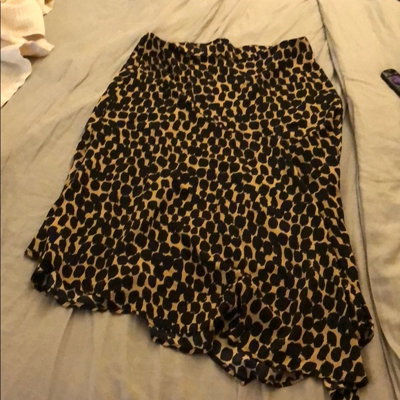 0a1ef8f70dad Who What Wear Skirts | Target Leopard Skirt 14w Sold Out | Poshmark